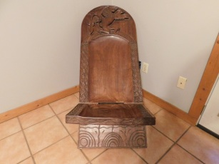 A chair from Africa